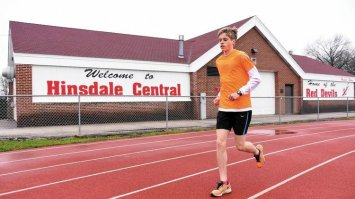Hinsdale Central's Nick Midlash sets personal milestones after surgery