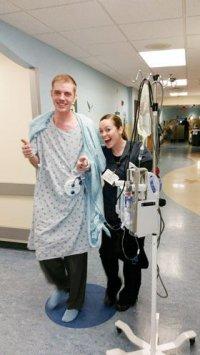 SML resident undergoes experimental surgery