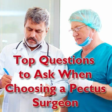 The  Questions to Ask When Choosing a Pectus Surgeon