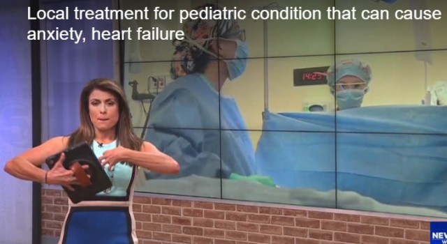 Mobile, Alabama treatment for pediatric condition that can cause anxiety, heart failure